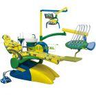 Lovely cartoon Children Dental Chair Unit , FDA & CE approved.