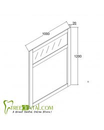 Dental Cabinet Screen