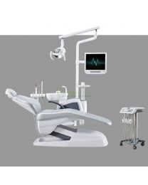 Human Friendly Economical Dental Chair Unit Cart Type