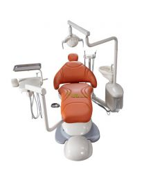 North American Style Dental Chair Dental Unit Left And Right Treatment Position