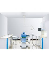 Split Type Hydraulic Driving North American Style Dental Chair Dental Unit Left And Right Treatment