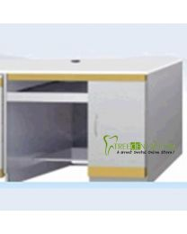 Medical Dental Computer Desks cabinet,Stainless Steel,with 1 Door Dental cabinet,985*495*830mm