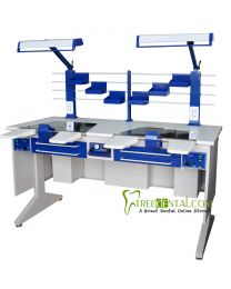dental laboratory desk