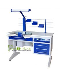 dental laboratory technician desk