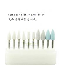 10BOX/UNIT Dental Polishing Burs Kit