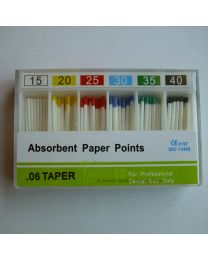 200 Boxes / Unit Absorbent Paper Points 0.06 Taper