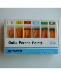 200 Boxes / Unit Gutta Pecha Points 0.06 Taper