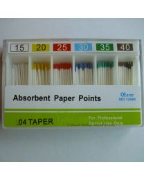 200 Packs/unit Absorbent Paper Points 0.04 Taper