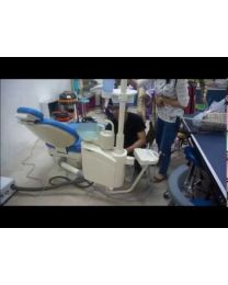Right/left Arm Position Transferable Dental Chair Unit, Multi-angle swing Arm And  External Floor Box With The Chair, FDA & CE approved