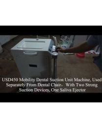Mobility Dental Suction Unit Machine, Used Separately From Dental Chair,With one Strong Suction Devices