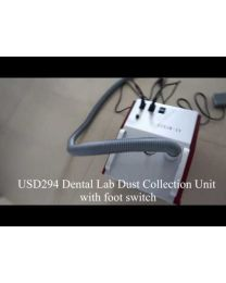 Dental Lab Dust Collection Unit with foot switch