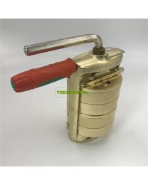 DENTAL Two-Layer PRESS COMPRESS WITH Double Tank BRONZE HANDLER