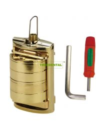 dental flask press