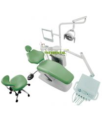 Music Dental Unit,Human Friendly Economical Dental Chair Unit,With Detachable Metal Backrest