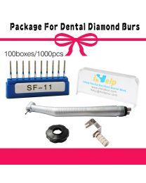 Package For Dental Diamond Burs