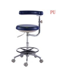 New Luxury Dental Assistant's/Medical Office Doctor Stools For Dentist PU Lap Equipment,Travel Distance 200mm