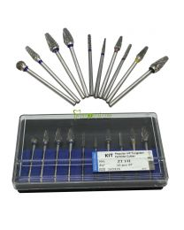 10PCS/UNIT,  HP Dental Tungsten Carbide Bur, Tungsten carbide Cutter,  Dental Burs Lab Tooth Drill Polisher