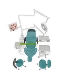 New Luxury Implant Surgery Dental Units With Dental Implant Surgery LED Lamp,9 programs control system,FDA & CE Approved