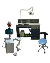 Manual Control ,Dental Teaching System/Dental Simulation System/Dental Training System,For: Dental Schools,Dental Hygene Schools, Dental Assistant Schools, Study Clubs, and Dental Corporations.Complete with Dental Surrogate, Workbench and Dust Collection