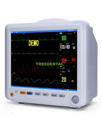 Portable Implant Surgery Patient Monitor, 6-parameter,ECG, SpO2, NIBP, Temp, Respiration,HR/PR,With 12.1 Inch