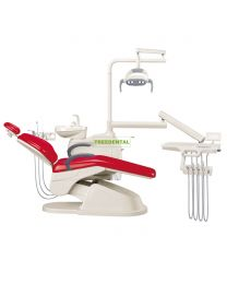 FDA & CE approved ,Economical And Practical Dental Chair,Dental Unit,Built-in Tissue Box.