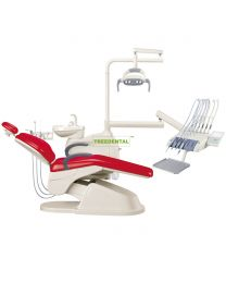 FDA & CE approved, Economical And Practical Dental Chair, Dental Unit, Built-in Tissue Box.