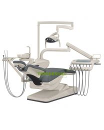 FDA & CE Approved, Disinfection Dental Chair Unit, Dental Unit With Top Mounted Or Down-mounted instrument tray.