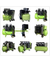 Dental Noiseless Oilless Air Compressor, With Condensing Air Dryer