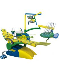 Lovely cartoon Children Dental Chair Unit , FDA & CE approved.