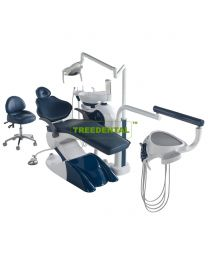 Dental Chair Unit, Floor Type, with high quality Imported spare parts