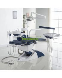 Luxury  Dental Chair Unit, Floor Type, with high quality Imported spare parts, FDA & CE approved