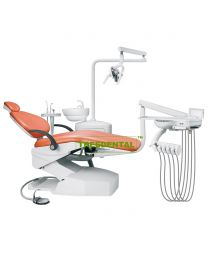 CE Approved,North American Style Dental Chair/Dental Unit,Swing Mount Delivery System , with high quality Imported spare parts
