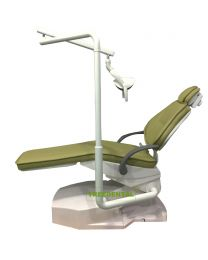 Standard Dental Units, Without Sidepod ,Microfiber Leather,Seat UP And Down ,Light ON And OFF By The Foot Control Switch