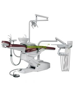 Dental Chair Unit, Floor Type,Cart Type,With High Quality Imported Spare Parts, FDA & CE approved