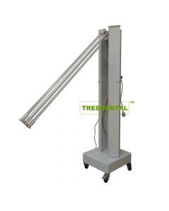 Ultraviolet(UV-C) disinfection cart,UV Sterilization Lamp Cart 0°-180°Adjustable,Mobile Sterilization Disinfection car