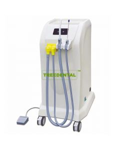 Portable Dental Vacuum Suction,Saliva System,Dental Suction Unit,Movable Suction Motor Pump,Used Separately From Dental Chair,With HVE+SE Handpiec