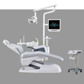 Human Friendly Economical Dental Chair Unit Cart Type
