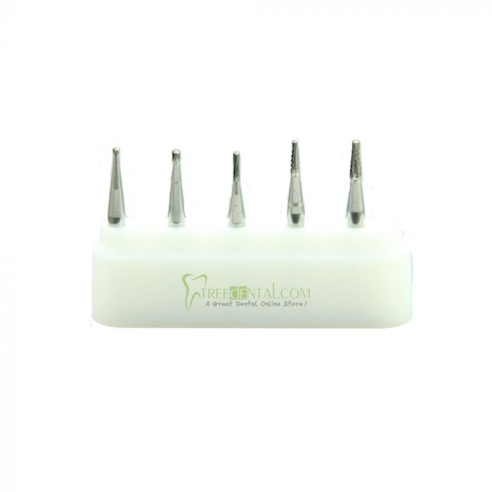 50PCS/10BOX/UNIT Dental Burs Tungsten Carbide RA Low Speed Handpiece for  Students Beginner