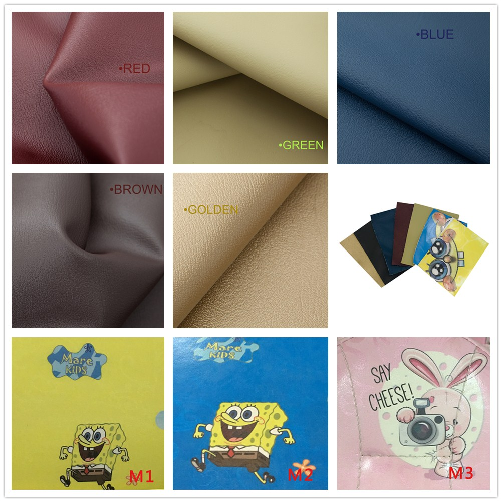 TR-SDU01 Microfiber Leather Color Sheet