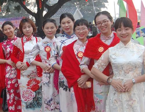 Cheongsam Show for Hometown Celebration