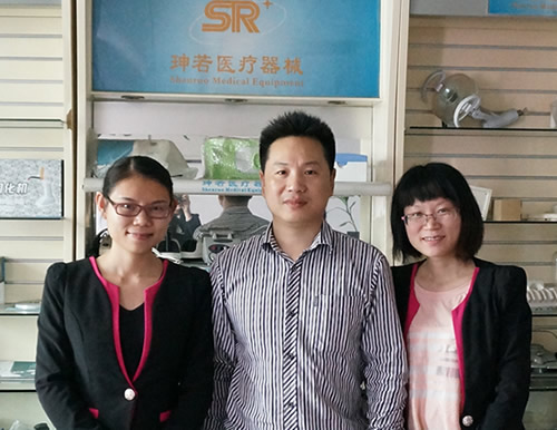 With Mr.Cen from Shenruo