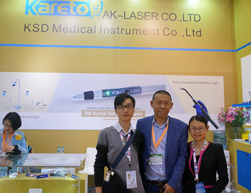 With Mr.Liu from KSD