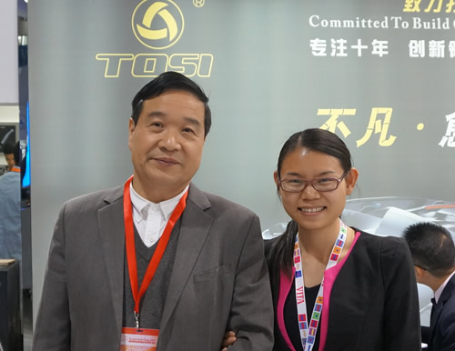 With Mr.Ying from TOSI