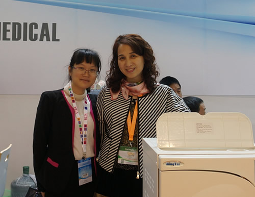 With Ms.Chen from Mingtai