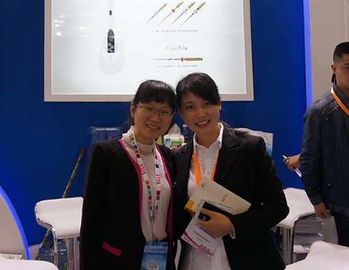 With Ms.Lee from Denjoy