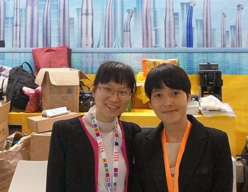 With Ms.Wong from Westcode