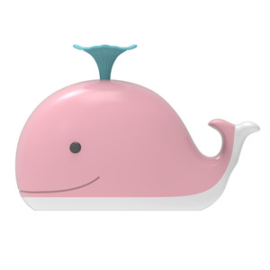 Pink whale fioor box