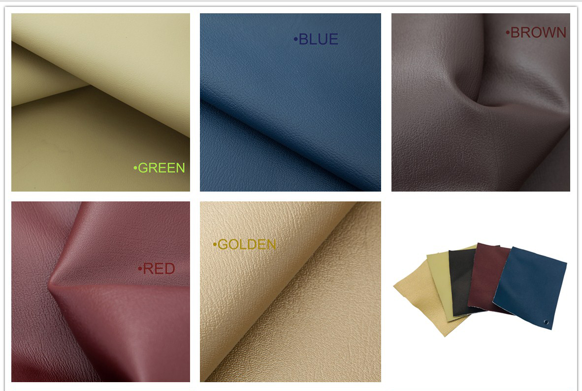 TR-S104 Microfiber Leather Color Sheet
