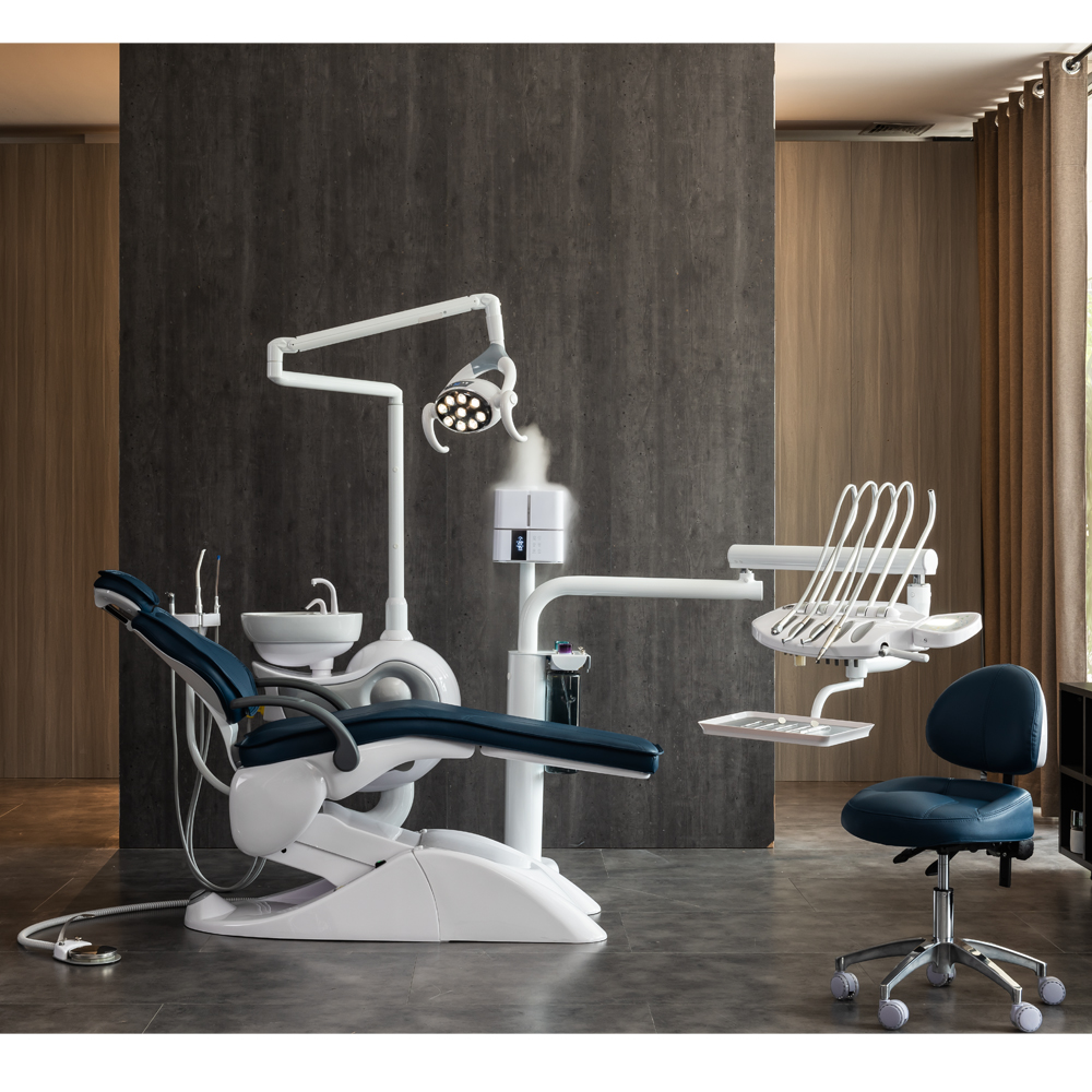FDA & CE Approved,Dental Chair Unit, Floor Type, Dental Unit With Air Sterilizing Atomizer