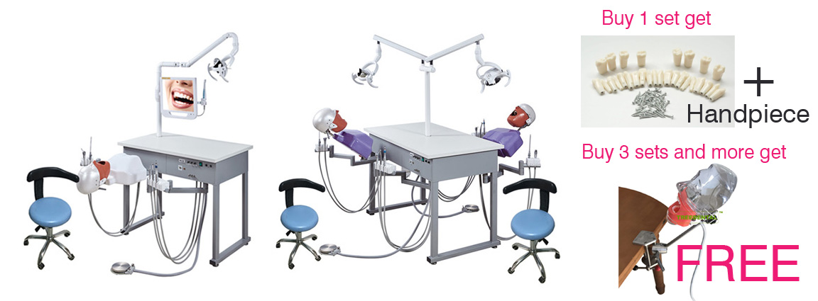 Manual Control Dental Teaching System Upgraded